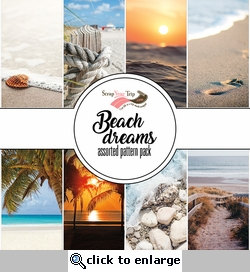 Beach Dreams Assorted 12 x 12 Paper Pack