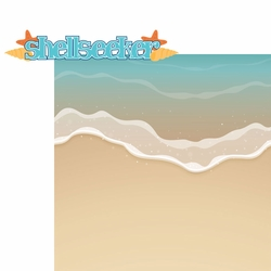2SYT Beach Fun: Shellseeker 2 Piece Laser Die Cut Kit