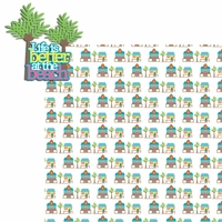 Beach House: Better at the Beach 2 Piece Laser Die Cut Kit