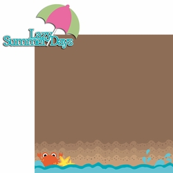 Beach House: Lazy Summer Days 2 Piece Laser Die Cut Kit