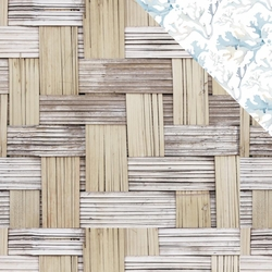 Beach Shack: Thatched 12 x 12 Double-Sided Cardstock