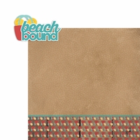 Beachy Keen: Beach Bound 2 Piece Laser Die Cut Kit