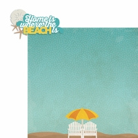 Beachy Keen: Home is 2 Piece Laser Die Cut Kit