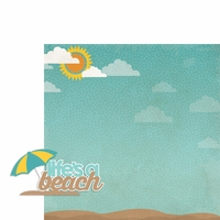 Beachy Keen: Life's a Beach 2 Piece Laser Die Cut Kit