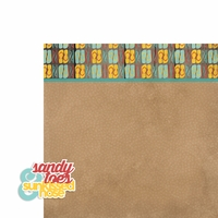 Beachy Keen: Sandy Toes 2 Piece Laser Die Cut Kit