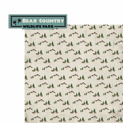 Bear Country 2 Piece Laser Die Cut Kit