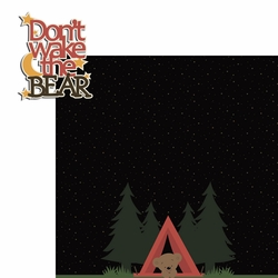 2SYT Bear Cub: Don�t Wake 2 Piece Laser Die Cut Kit