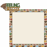 Bear Cub: Grizzly 2 Piece Laser Die Cut Kit