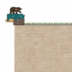 Bear Tribe: Papa Bear 2 Piece Laser Die Cut Kit