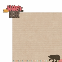 Bear Tribe: Sister Bear 2 Piece Laser Die Cut Kit