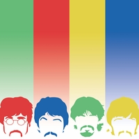 Beatles: Fab Four 12 x 12 Paper