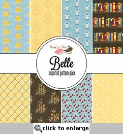 Belle Assorted 12 x 12 Paper Pack