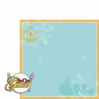Belle: Be Our Guest 2 Piece Laser Die Cut
