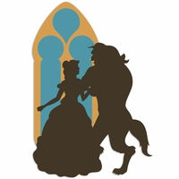 Belle: Belle and Beast Laser Die Cut