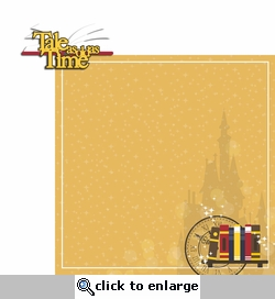 Belle: Tale as Old as Time 2 Piece Laser Die Cut
