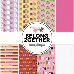 1SYT Belong 2gether Assorted 12 x 12 Paper Pack