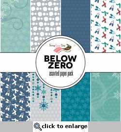 Below Zero Assorted 12 x 12 Pattern Pack