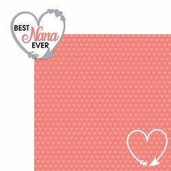 Best Nana 2 Piece Laser Die Cut Kit