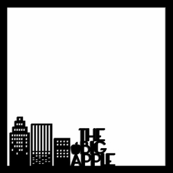Big Apple 12 x 12 Overlay Laser Die Cut