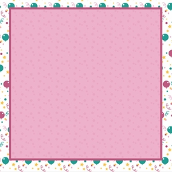 Big Wish: Pink Time to Celebrate 12 x 12 Paper