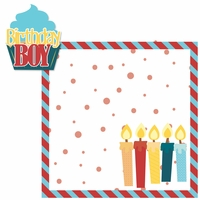Birthday: Birthday Boy 2 Piece Laser Die Cut Kit