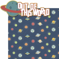 Blast Off: Out of This World 2 Piece Laser Die Cut Kit