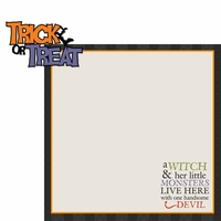 Boo Crew: Trick Or Treat 2 Piece Laser Die Cut Kit