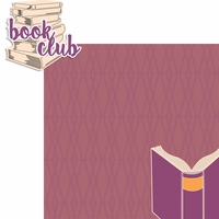 Book Club 2 Piece Laser Die Cut Kit
