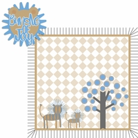 Born to be Wild: Boy Lion 2 Piece Laser Die Cut Kit
