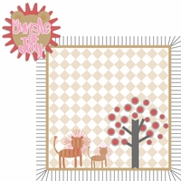 Born to be Wild: Girl Lion 2 Piece Laser Die Cut Kit