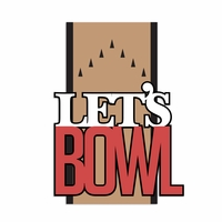 Bowling: Let's Bowl Laser Die Cut