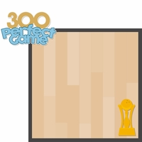 Bowling: Perfect Game 2 Piece Laser Die Cut Kit