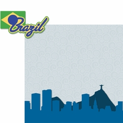 Brazil: Brazil 2 Piece Laser Die Cut Kit