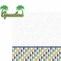 Brazil: Copacabana 2 Piece Laser Die Cut Kit