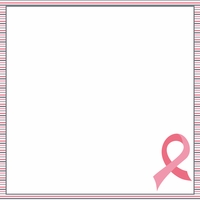 Breast Cancer Awareness: Fighting back 12 x 12 Paper