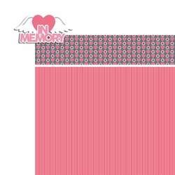 Breast Cancer: In Memory 2 Piece Laser Die Cut Kit