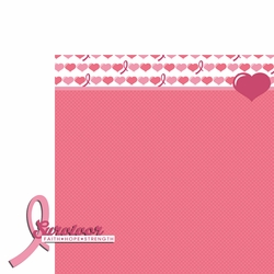 Breast Cancer: Survivor 2 Piece Laser Die Cut Kit