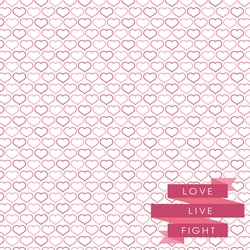 Breast Cancer: Think Pink 12 x 12 Paper