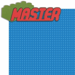 Brick By Brick: Master 2 Piece Laser Die Cut Kit