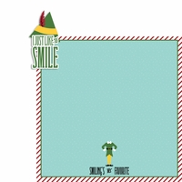 Buddy the Elf: Live to Smile 2 Piece Laser Die Cut Kit