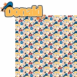 Buncha Character: Donald 2 Piece Laser Die Cut Kit