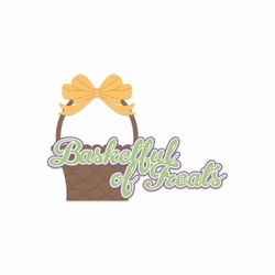 Bunny Time: Basketful Of Treats Laser Die Cut