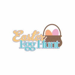 Bunny Time: Easter Egg Hunt Laser Die Cut