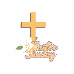 Bunny Time: Easter Sunday Laser Die Cut