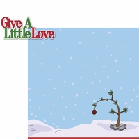 C.B. Christmas: Give Love 2 Piece Laser Die Cut Kit