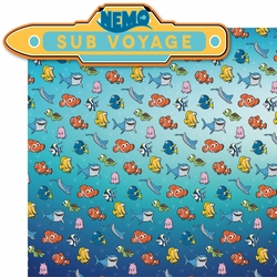 California Adventure: Nemo Sub Voyage 2 Piece Laser Die Cut Kit