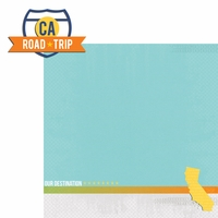 California Travels: CA Road Trip 2 Piece Laser Die Cut Kit