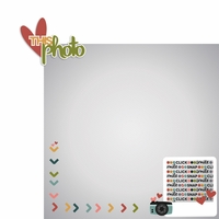 Camera Shy: Love this Photo 2 Piece Laser Die Cut Kit