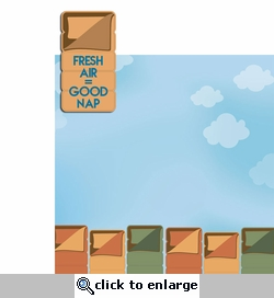 Camp Out: Fresh Air Good Nap 2 Piece Laser Die Cut Kit