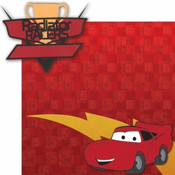 Car Land: Radiator Racers 2 Piece Laser Die Cut Kit